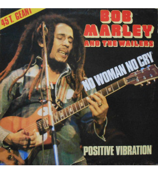 "Bob Marley & The Wailers - No Woman, No Cry Live (12"") mesvinyles.fr"