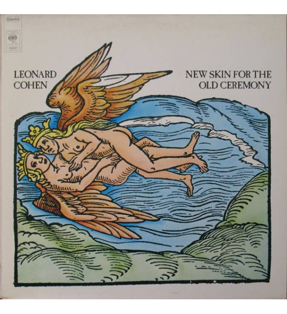 Leonard Cohen - New Skin For The Old Ceremony (LP, Album, RP) mesvinyles.fr