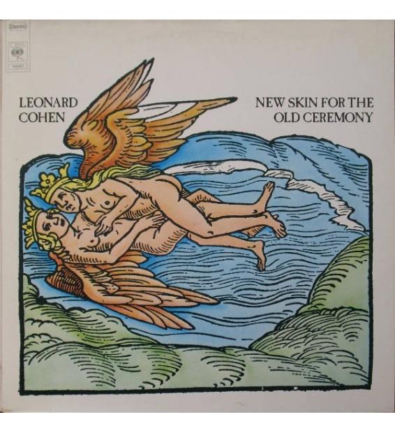 Leonard Cohen - New Skin For The Old Ceremony (LP, Album, RP)