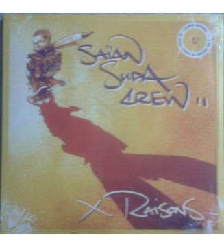 Saïan Supa Crew - X Raisons (2xLP, Album, Ltd, RE, Yel) mesvinyles.fr