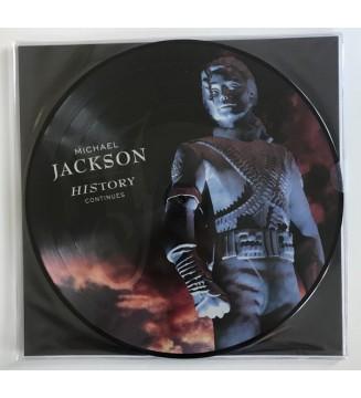 Michael Jackson - History Continues (2xLP, Album, Pic) mesvinyles.fr