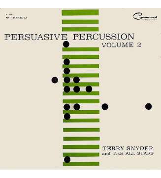 Terry Snyder And The All Stars - Persuasive Percussion Volume 2 (LP) mesvinyles.fr
