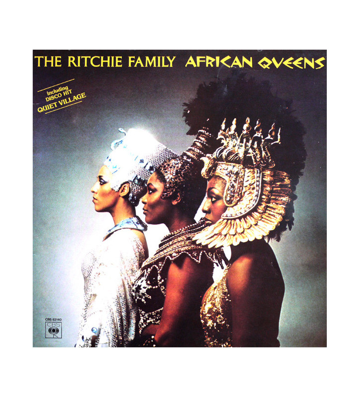 The Ritchie Family - African Queens (LP, Album, P/Mixed) mesvinyles.fr