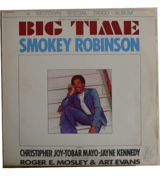 Smokey Robinson - Big Time - Original Music Score From The Motion Picture (LP) mesvinyles.fr