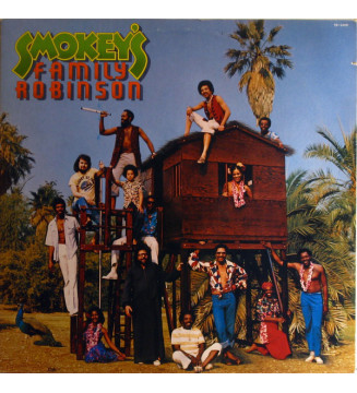 Smokey Robinson - Smokey's Family Robinson (LP, Album) mesvinyles.fr
