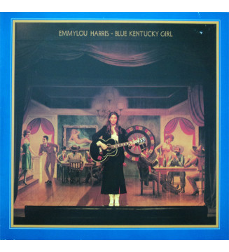 Emmylou Harris - Blue Kentucky Girl (LP, Album) mesvinyles.fr