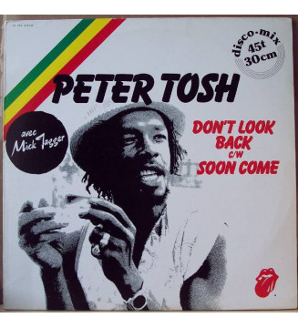 "Peter Tosh - Don't Look Back / Soon Come (12"") mesvinyles.fr"