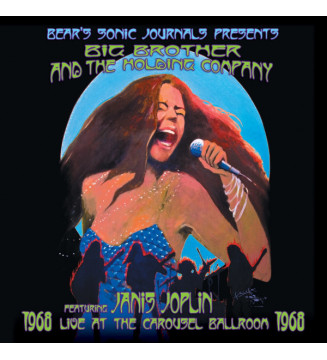 Big Brother & The Holding Company featuring Janis Joplin - Live At The Carousel Ballroom 1968 (2xLP, Album, RM, 180) mesvinyles.
