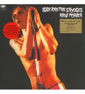 Iggy And The Stooges* - Raw Power (2xLP, Album, Ltd, Num, RE, RM, Red) mesvinyles.fr