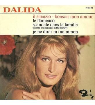 """Dalida - Il Silenzio - Bonsoir Mon Amour (7"""", EP) mesvinyles.fr"""