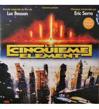 """Eric Serra - Musique Du Film De Luc Besson """"Le Cinquième Elément"""" (2xLP, Album, RE, Ora) mesvinyles.fr"""