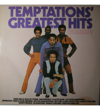 Temptations* - Greatest Hits Volume 3 (LP, Comp) mesvinyles.fr