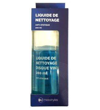 Liquide de nettoyage pour disques vinyles 200 ml mesvinyles.fr