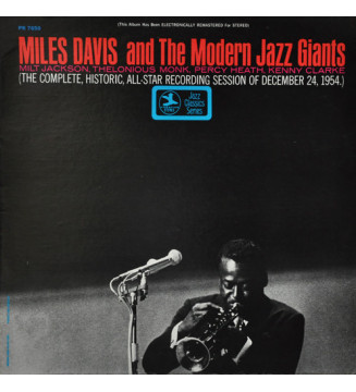 Miles Davis - Miles Davis And The Modern Jazz Giants (LP, Comp, RE, RM) mesvinyles.fr