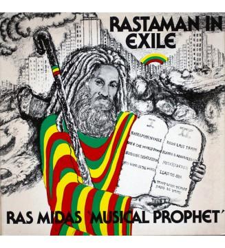 Ras Midas - Rastaman In Exile (LP, Album) mesvinyles.fr