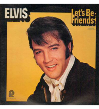 Elvis* - Let's Be Friends (LP, Comp, Mono, RE) mesvinyles.fr