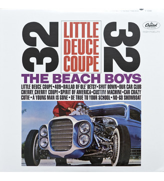 The Beach Boys - Little Deuce Coupe (LP, Album, Mono, RE) mesvinyles.fr