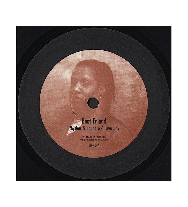 "Rhythm & Sound w/ Love Joy* - Best Friend (10"") mesvinyles.fr"