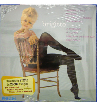 """Brigitte Bardot - Brigitte (10"""", Album, Ltd, Num, RE) mesvinyles.fr"""