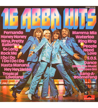 ABBA - 16 ABBA Hits (LP, Comp, Club) mesvinyles.fr