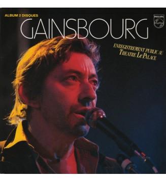 Gainsbourg* - Enregistrement Public Au Théâtre Le Palace (2xLP, Album, RE, RM, Gat) mesvinyles.fr