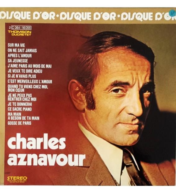 Charles Aznavour - Le Disque D'or De Charles Aznavour (LP, Comp, Gat) mesvinyles.fr