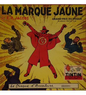 Edgar P. Jacobs - La Marque Jaune (LP) mesvinyles.fr