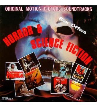 Various - Horror & Science Fiction (LP, Comp) mesvinyles.fr