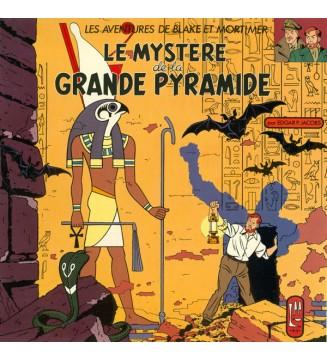Edgar P. Jacobs - Le Mystère de la Grande Pyramide (LP, Album, Mono, Num) mesvinyles.fr