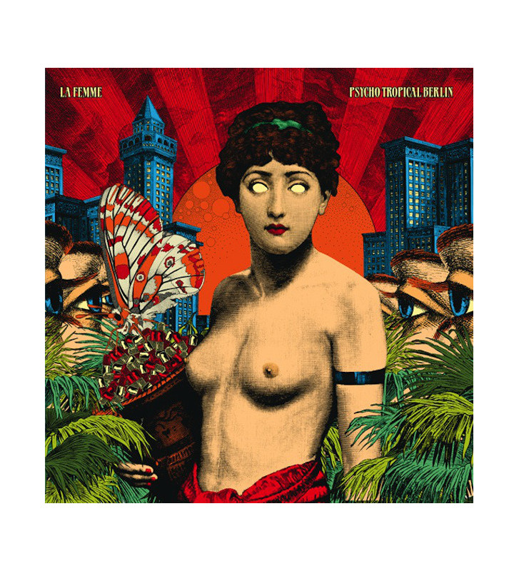 La Femme (4) - Psycho Tropical Berlin (2xLP, Album) mesvinyles.fr