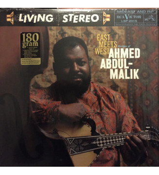 Ahmed Abdul-Malik - East Meets West: Musique Of Ahmed Abdul-Malik (LP, Album, RE, 180) mesvinyles.fr