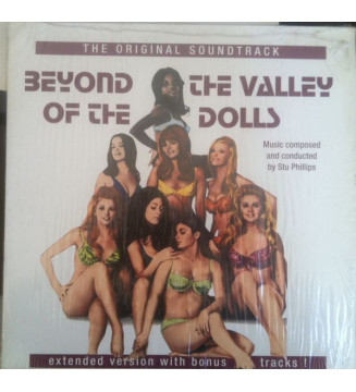 Stu Phillips - Beyond The Valley Of The Dolls - The Original Soundtrack (LP, Album, Ltd, RE, Red) mesvinyles.fr