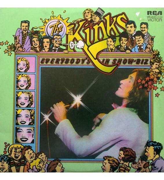 The Kinks - Everybody's In Show-Biz - Everybody's A Star (2xLP, Album, Gat) mesvinyles.fr