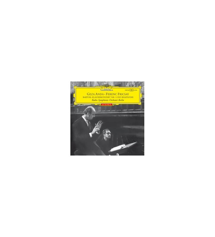 Béla Bartók - Géza Anda, Ferenc Fricsay Mit Dem Radio-Symphonie-Orchester Berlin - Konzert Nr. 1 Für Klavier Und Orchester (LP,