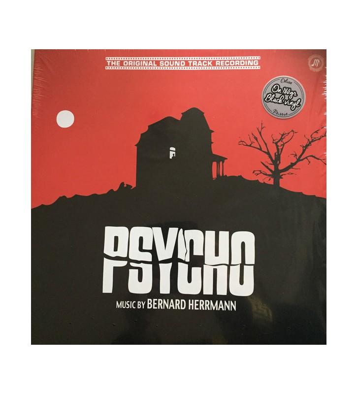 Bernard Herrmann - Psycho - Original Sound Track (LP, Album, 180) mesvinyles.fr