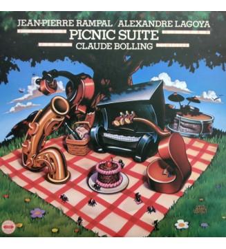 Jean-Pierre Rampal / Alexandre Lagoya / Claude Bolling - Picnic Suite (LP, Album) mesvinyles.fr