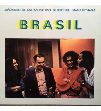 João Gilberto / Caetano Veloso / Gilberto Gil / Maria Bethânia - Brasil (LP, Album) mesvinyles.fr