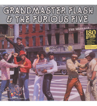Grandmaster Flash & The Furious Five - The Message (LP, Album, Ltd, RE, 180) mesvinyles.fr