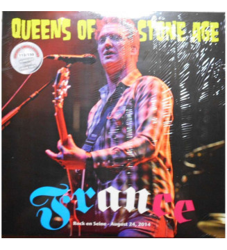Queens Of The Stone Age - France (LP, Album, Ltd, Num, Unofficial, Cle) mesvinyles.fr