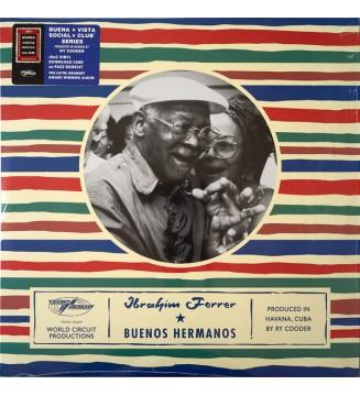Ibrahim Ferrer - Buenos Hermanos (LP, Album, RE) mesvinyles.fr