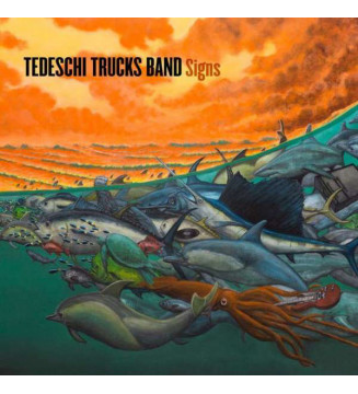 "Tedeschi Trucks Band - Signs (LP, Album, 180 + 7"", S/Sided, Etch) mesvinyles.fr"