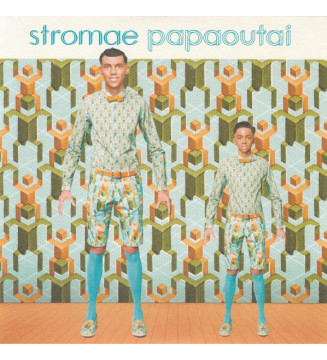 "Stromae - Papaoutai (7"", Single, Blu) mesvinyles.fr"