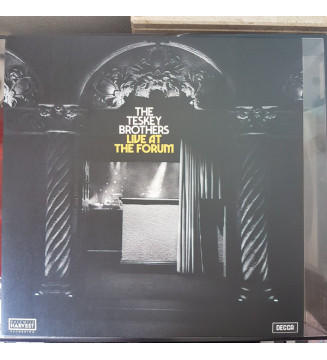 The Teskey Brothers - Live At The Forum (LP, Album, Ltd, Blu) Disquaire Day (RSD) mesvinyles.fr