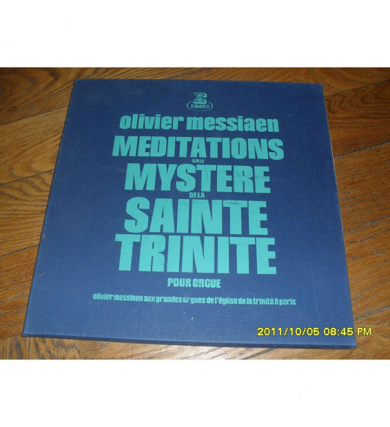 Olivier Messiaen - Méditations Sur Le Mystère De La Sainte Trinité - Pour Orgue mesvinyles.fr