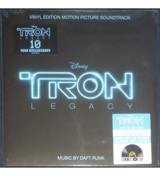 Daft Punk - TRON: Legacy (Vinyl Edition Motion Picture Soundtrack) (2xLP, Album, Ltd, RE, Tra) BLACK FRIDAY 2019 mesvinyles.fr
