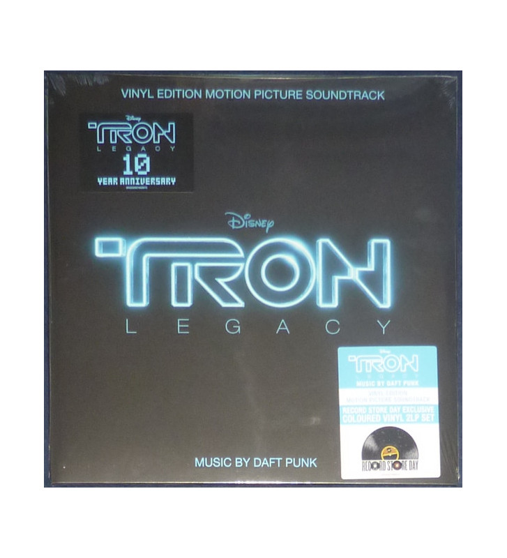 Daft Punk - TRON: Legacy (Vinyl Edition Motion Picture Soundtrack) (2xLP, Album, Ltd, RE, Tra) mesvinyles.fr