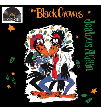 "The Black Crowes - Jealous Again (12"", Ltd, RE) Disquaire Day (RSD) mesvinyles.fr"