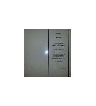 Marie-Claire Alain, Johann Sebastian Bach - The Organ Works Of Johann Sebastian Bach (LP) mesvinyles.fr