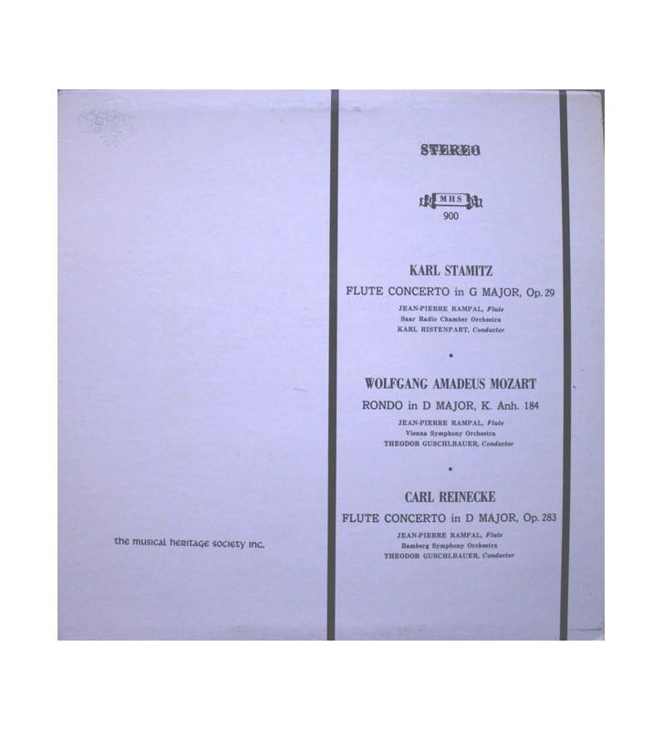 Jean-Pierre Rampal - The Classic Flute (LP, Album) mesvinyles.fr