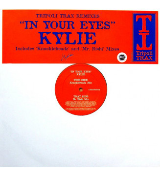 "Kylie* - In Your Eyes (Tripoli Trax Remixes) (12"", Single, Promo) mesvinyles.fr"